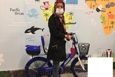 شوق داشتن یک دوچرخه