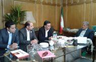 دیدار اعضاء موسسه خیریه ارمغان حیات شکوفه ها با رئیس شورای شهر تهران
